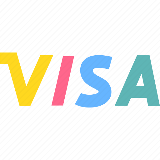 credit card, finance, payment, visa icon