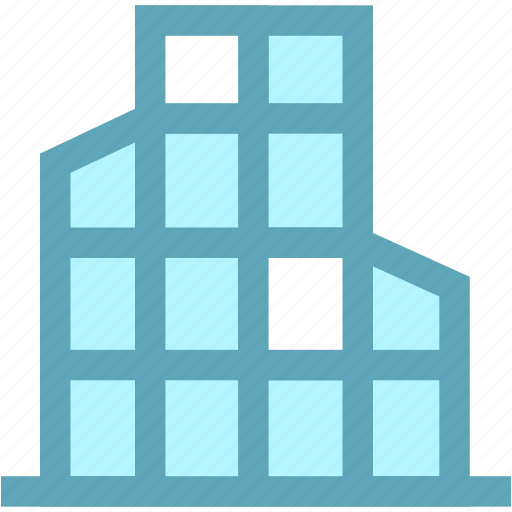 building, business, house icon
