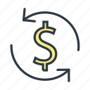 currency, currency exchange, money exchange icon icon