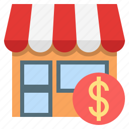 home based business, shop, shopping centre, small business, small shop, small store, store icon