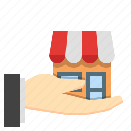 buy a business, buy a store, buy businesses, buy store, purchase a business icon