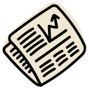 market, news, newspaper, stock icon