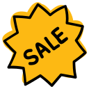 discount, cheap, reduced, black friday, price, tag, sale icon