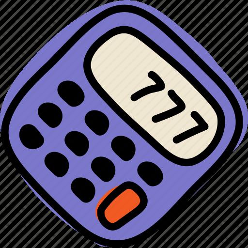 accountant, calculator, sum icon
