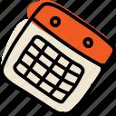 calendar, event, schedule, timetable