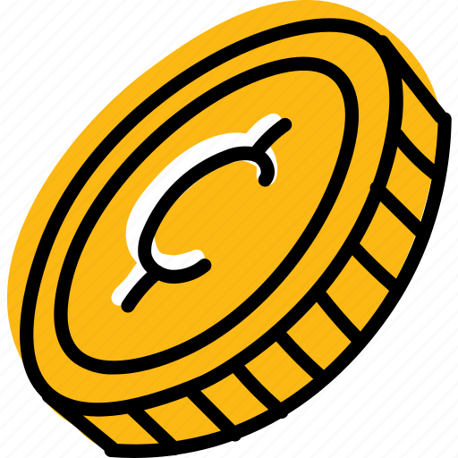 cent, coin, currency, money icon