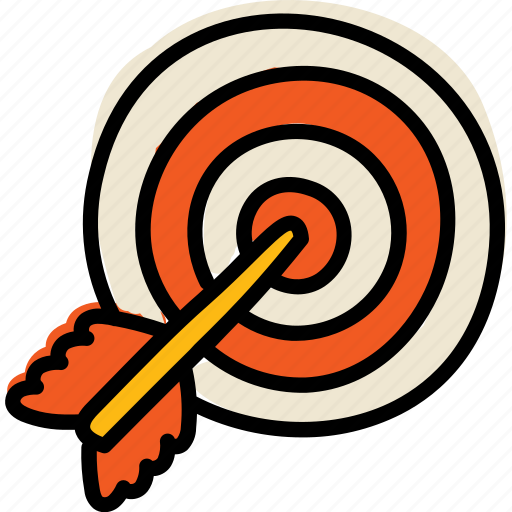 Arrow, goal, purpose, target icon - Download on Iconfinder
