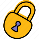 lock, padlock, privacy, security icon