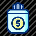 bag, business, finance, money