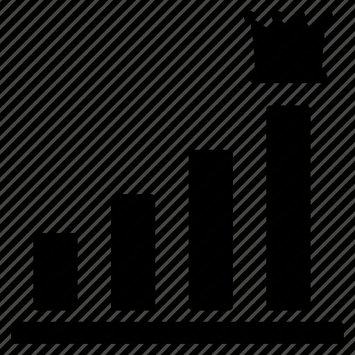 bar graph, business, finance, graph, graph increase, increase profit, profit increase icon
