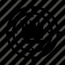 business, goal, setting goal, setting target, target goal, target profit icon