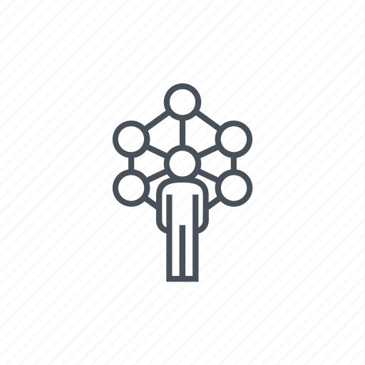 connection, group, network, networking, workers, working icon