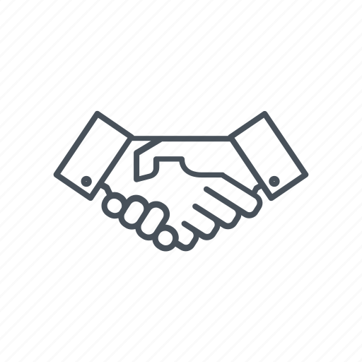 agreement, business, cooperation, hands, handshake, shake, shake hands icon