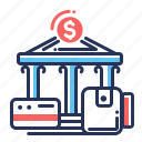 payments, bank, transactions, payment service icon