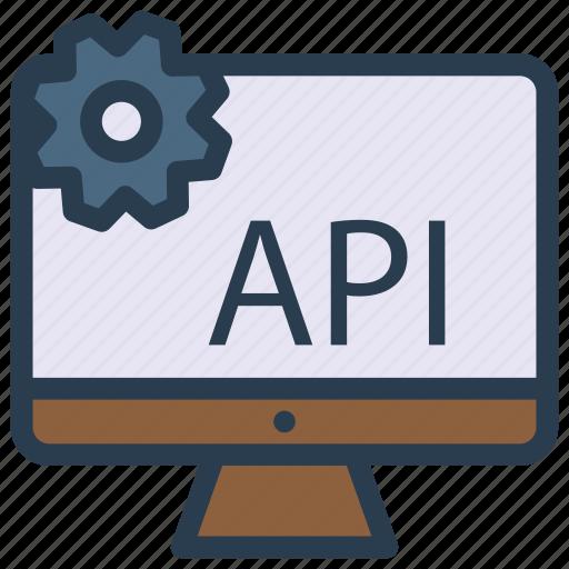 api, device, monitor, screen, setting icon