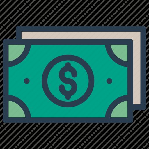 cash, dollar, finance, investment, money icon