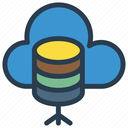 cloud, database, mainframe, server, storage icon