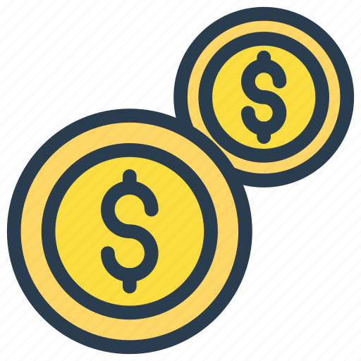 cash, coin, dollar, investment, money icon