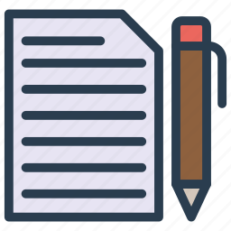 create, document, file, page, write icon