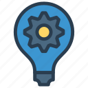 bulb, creativity, idea, lamp, ligth icon