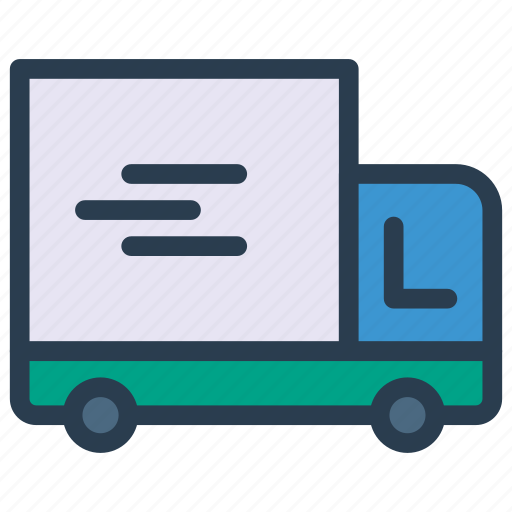 Automobile, delivery, transport, truck, vehicle icon - Download on Iconfinder