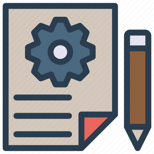 create, document, edit, page, write icon