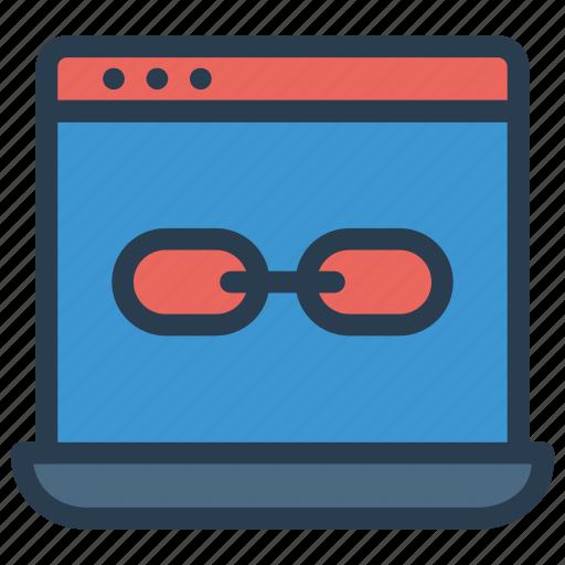 external, internet, link, url, webpage icon