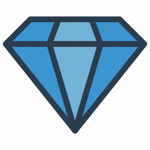 dollar, finance, gem, jewel, ruby icon