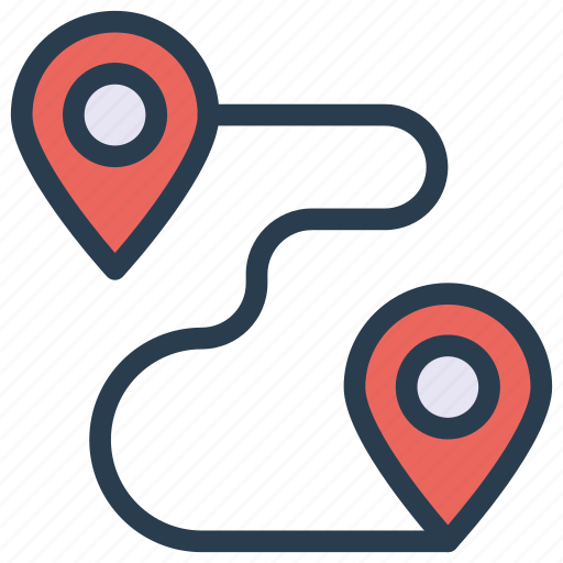 location, map, marker, pin, pointer icon