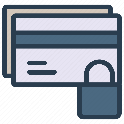 card, paylock, private, protection, secure icon