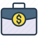 bag, briefcase, cash, money, portfolio icon