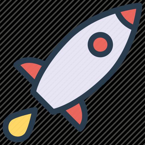 rocket, spaceship, speedup, startup, travel icon