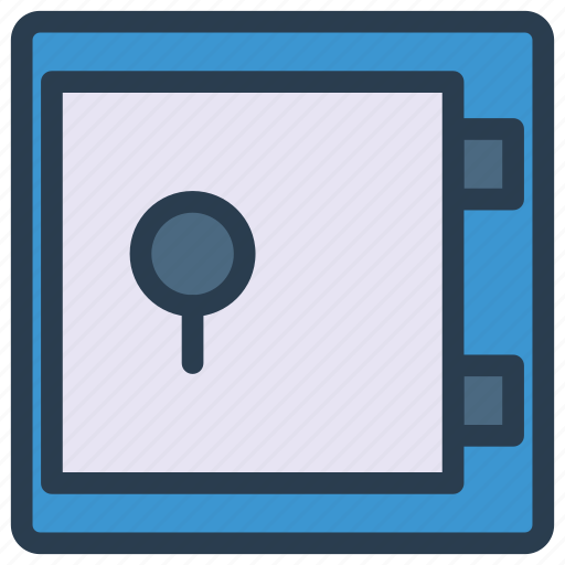 locker, protection, safe, security, vault icon
