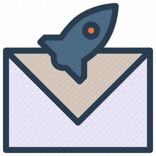boost, letter, message, send, startup icon