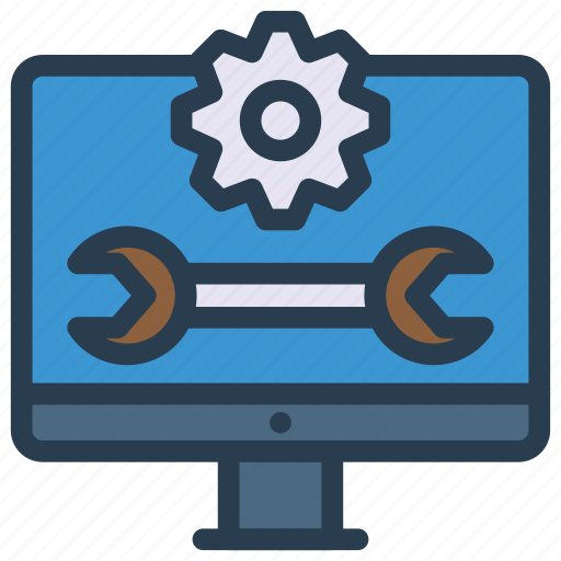 configure, lcd, maintenance, setting, tools icon