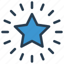 achievement, grade, rand, star, success icon