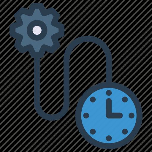clock, configure, setting, stopwatch, timer icon
