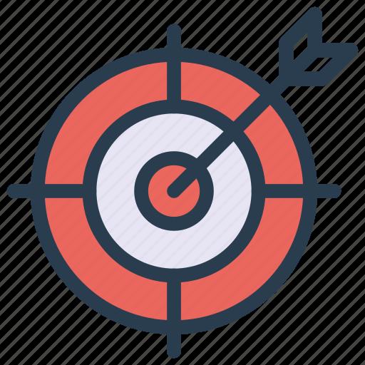 achievement, dartboard, goal, success, target icon