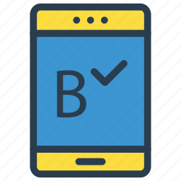 check, device, mobile, phone, tick icon
