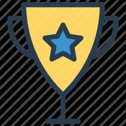 achievement, cup, prize, reward, trophy icon