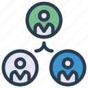 account, group, organization, team, user icon