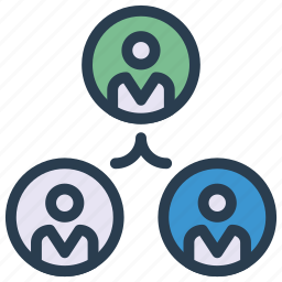 account, group, organization, team, user icon