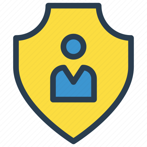 Account, protection, secure, shield, user icon - Download on Iconfinder