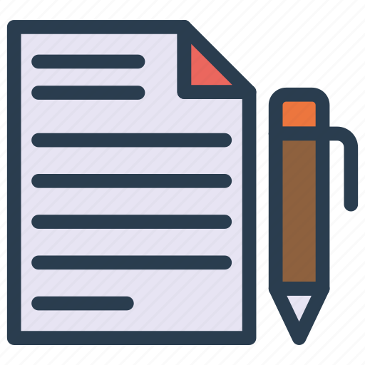 create, document, edit, file, write icon