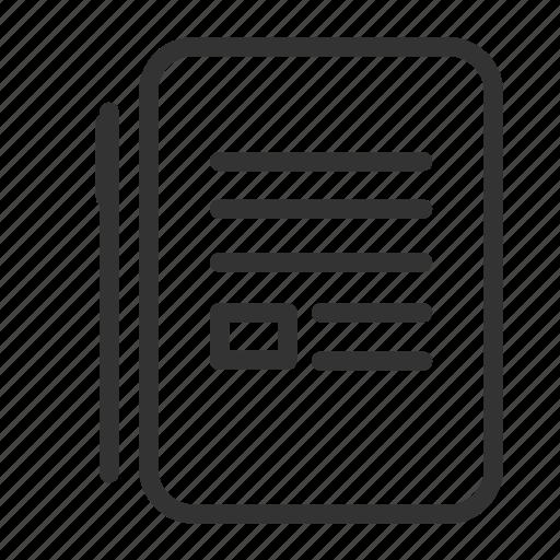 business, note, pen, write icon