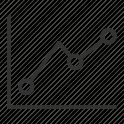 business, graphic, percentation, profit icon