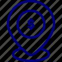 atm, bukeicon, cash, dollar, location, map, marker icon