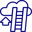 bukeicon, business, career, cloud, finance icon