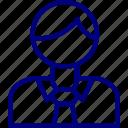 bukeicon, business, finance, man, money icon