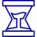dollar, hourglass, money, timebukeicon icon